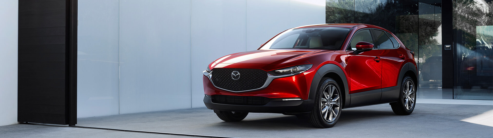 The newest addition to Mazda series of crossover vehicle, the Mazda CX-30