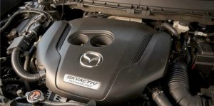 Mazda's Dynamic Pressure Turbo engine is masterfully engineered to give you higher levels of power at lower levels of RPM with no lag.